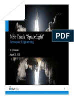 MSc Spacetrack Kickoff September 2015