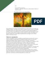 literatura precolombina apuntes