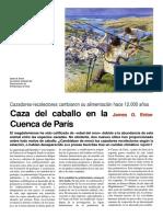 (Mundo Científico Nº215, Sept-2000 - Arquelogia)- Caza Del Caballo en La Cuenca de París