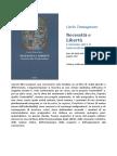 Carlo Tamagnone - Necessità e Libertà