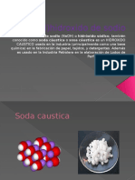 NaOH)Hidroxido de Sodio