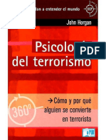 Psicologia Del Terrorismo - John Horgan