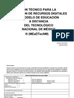 M1.R3. Formato de Guión Técnico