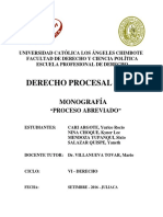 Monografia Derecho Procesal Civil 2016