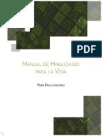 Manual de Habilidades Para La Vida IAPA Completo