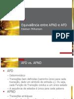 Aula 6 Equivalencia Entre Afd e Afnd