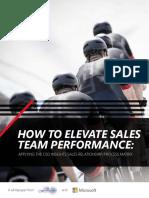 Elevate Sales Team Performance Whitepaper