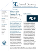 Epidemiology of Trauma and PTSD