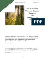ISTSS Complex Trauma Treatment Guidelines 2012 Cloitre,Courtois,Ford,Green,Alexander,Briere,Herman,Lanius,Stolbach,Spinazzola,Van Der Kolk,Van Der Hart