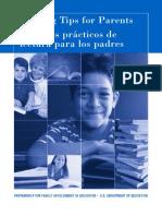 Consejos Practicos de Lectura Para Los Padres