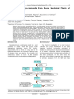 A review of phytochemicals from some medicinal plants of bangladesh