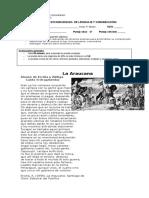 Evaluación  Lenguaje y Comunciación 5°