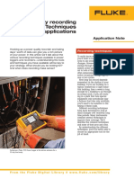 Power Quality Recording and Analysis- Techniquels and Applications