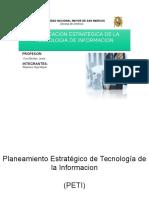 Plan Estrategico Tecnologia de La Informacion
