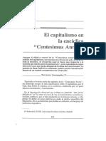 El Capitalismo en la Centesimus Annus
