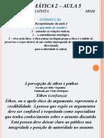 Sistemática 2 – aula 5 - Sbsm - 2S2016.pptx