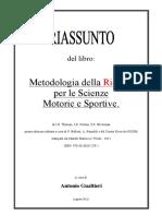 LM-Riassunto Libro - Metodologia Della Ricerca per SM