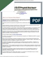 El Proyecto Blue Beam
