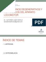Transtornos Degenerativos y Metabolicos Del Aparato Locomotor