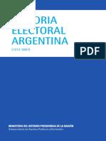 Historia Electoral Argentina