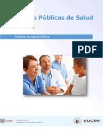 POLÍTICAS PUBLICAS DE SALUD 1