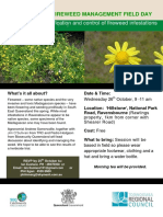 Fireweed Management Field Day 26 October