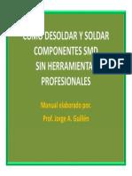 Como Desoldar y Soldar Componentes Smd