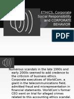CSR - Ethics