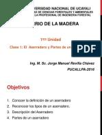 Clase1 Aserrio de La Madera 2016 II JMRCH