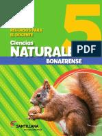 Ciencias Naturales 5 Bona en Movimiento