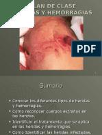 11va Clase Heridas y Hemo