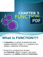Chapter 5 Function