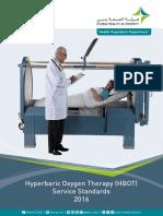 Hyperbaric Oxygen Theray (HBOT) Service Standards[1]