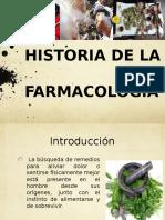 Historia de La Farmacologia