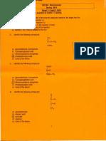 Spring 2014 Biochem Exam 2