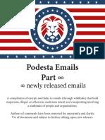 Podesta Emails Roundup 10-13-16