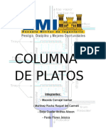 Columna de Platos