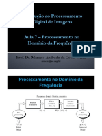 Aula 7 -USP Processamento Do Dominio Da Frequencia
