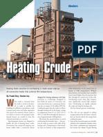 Heating Crude