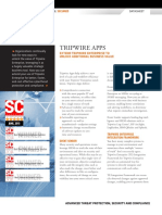 Tripwire Apps Overview Datasheet