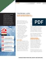 Tripwire Apps Overview Datasheet