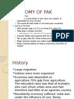 Economy of Pak