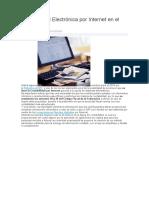 Contabilidad Electrónica Por Internet en El SAT