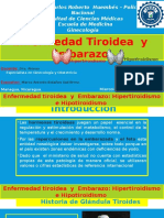 Enfermedad Tiroidea y Embarazo Segun Normativa