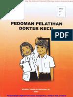 Bk2011-313 (Pedoman Pelatihan Dokter Kecil 2011) Buku Resmi Kemenkes RI