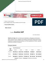 Média Salarial de Analista SAP No Brasil _ SINE