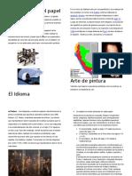La Imprenta y El Papel