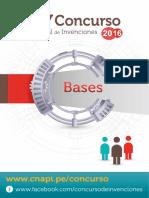 Bases XV CNI 2016 Cuerpo