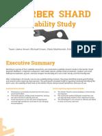 Gerber Shard Qualitative Usability Study