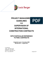 01 - Project Management Guidelines for Supervision of International Construction Contracts.pdf
